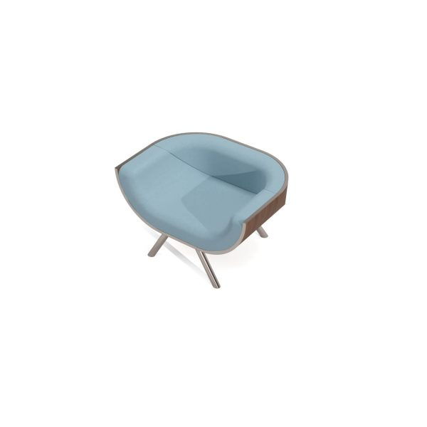 Lazy Day Modern Armchair Top View