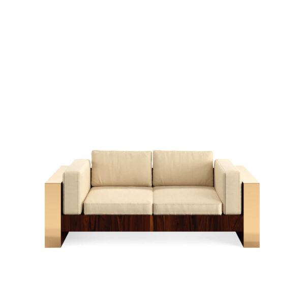 Frame two seat sofa