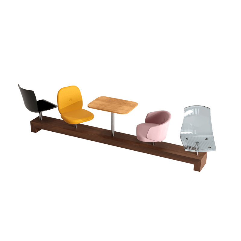 Mix and Match Large Bench  About Emotional Objects Mix and Match Collection Large Bench