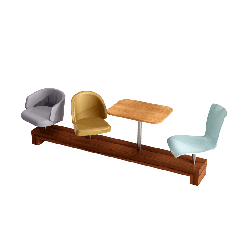 Mix and Match Medium Bench  About Emotional Objects Mix and Match Collection Medium Bench